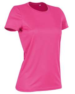 Active Sports-T Crew Neck for women Sweet Pink