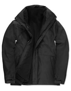 3-in1-Jacke besticken -  Black 002