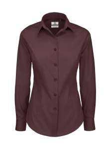 Damen Bluse besticken -  Luxurious Red