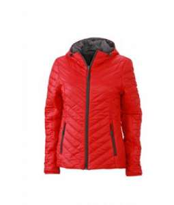 Winterjacke besticken -  Red