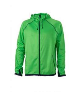 Men´s Hooded Fleece Green