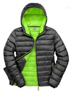 Mens Snow Bird Padded Jacket Black