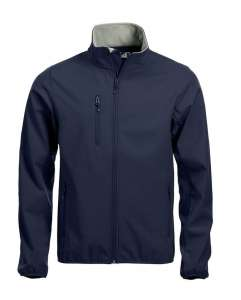 BASIC SOFTSHELL JACKE Dark-navy