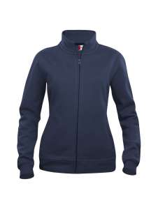 Basic Sweatjacke besticken -  Marine