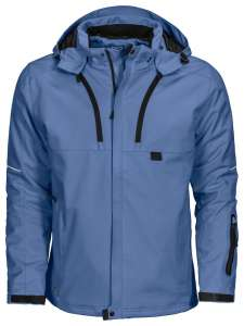 3407 WARME FUNKTIONSJACKE besticken  Blau
