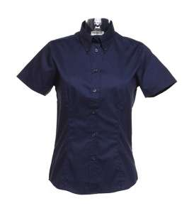Ladies Corporate Oxford Bluse Midnight Navy