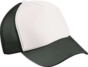 Kinder Cap besticken -  White/black