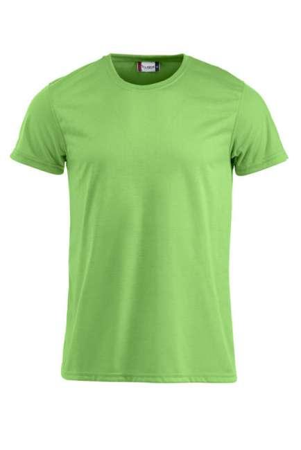 Neon-T-Shirt von Clique mit individuellen Logo besticken ...