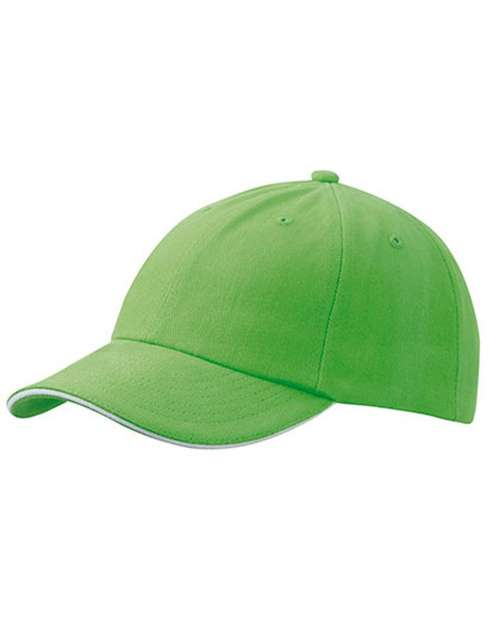 Cap besticken - Lime-green