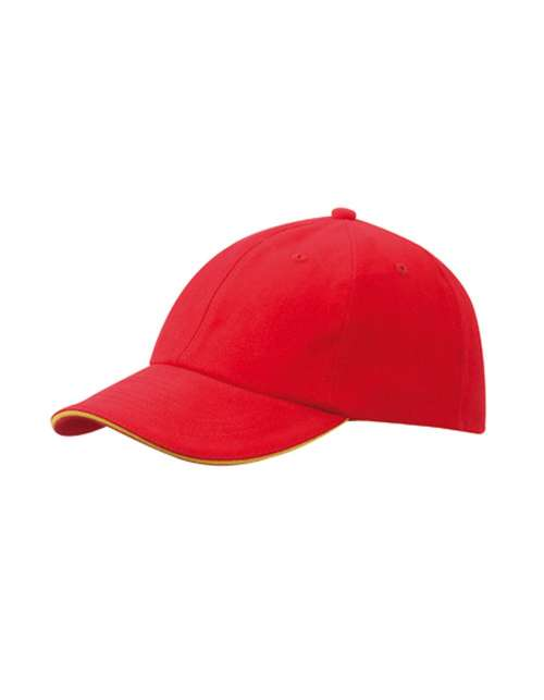 Cap besticken -  Signal-red